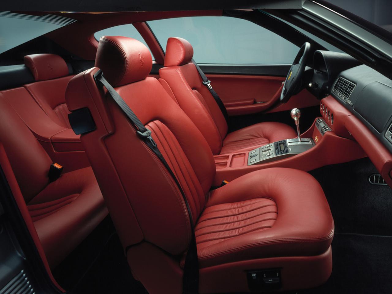 456 GTA: Visione interni