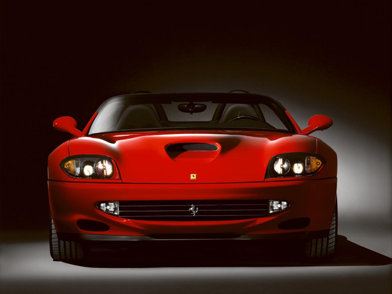 550 Barchetta Pininfarina: Front view