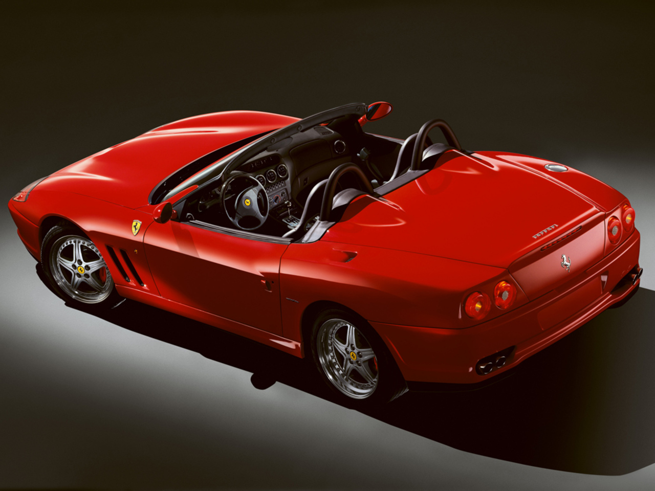 550 Barchetta Pininfarina: Upper view