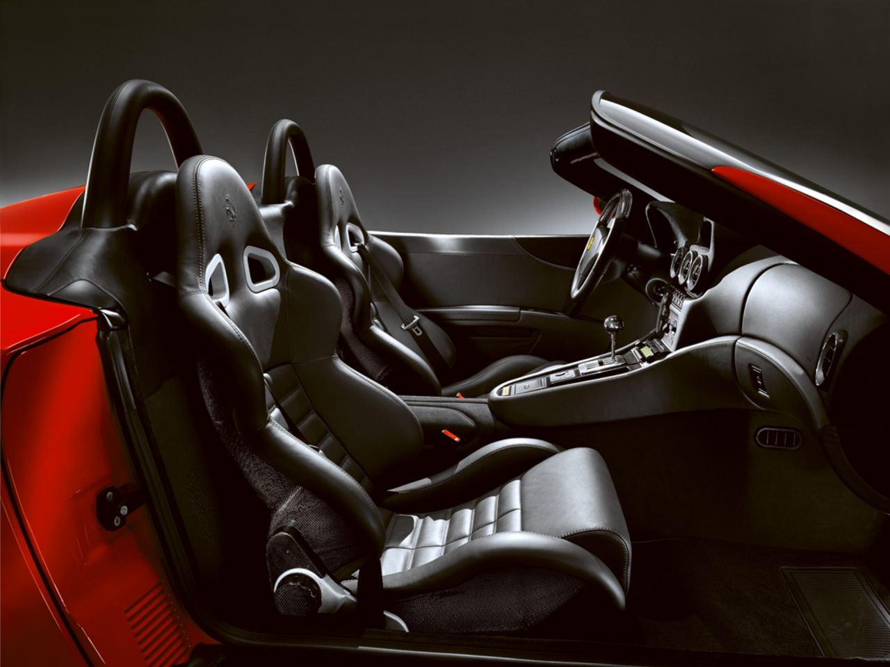 550 Barchetta Pininfarina: Interior and seats detail