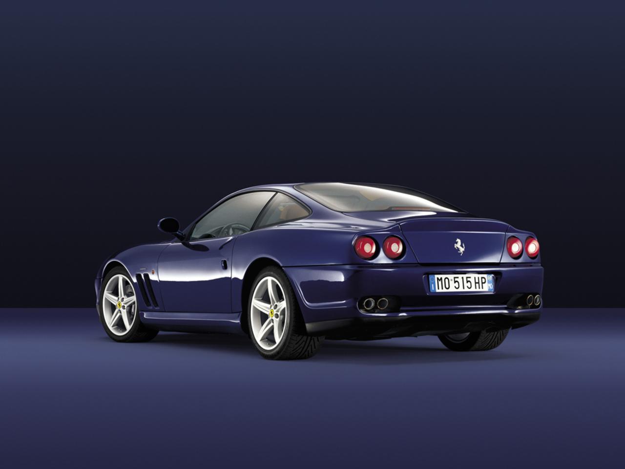 575M Maranello, 3/4 rear view