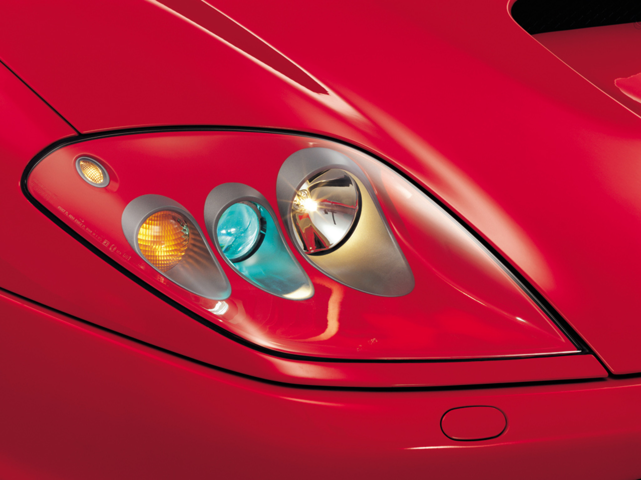 575M Maranello, front light