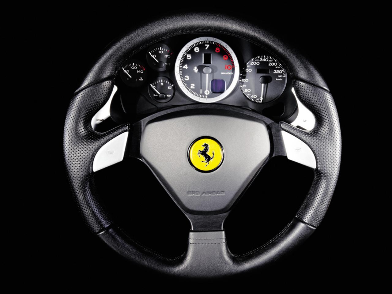 575M Maranello, steering wheel