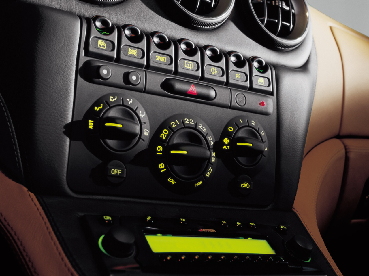 1575M Maranello, Dashboard
