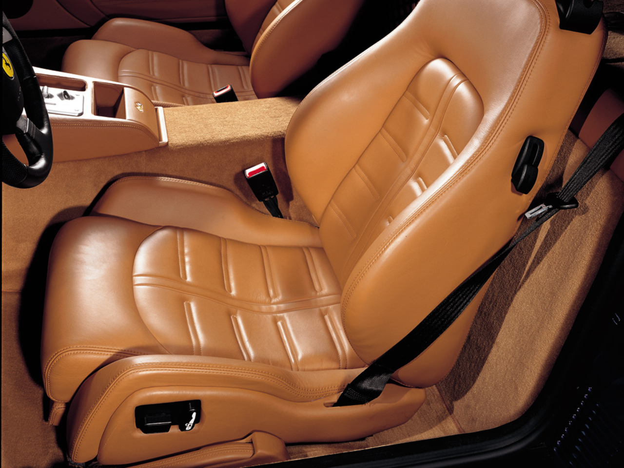 575M Maranello, leather seat