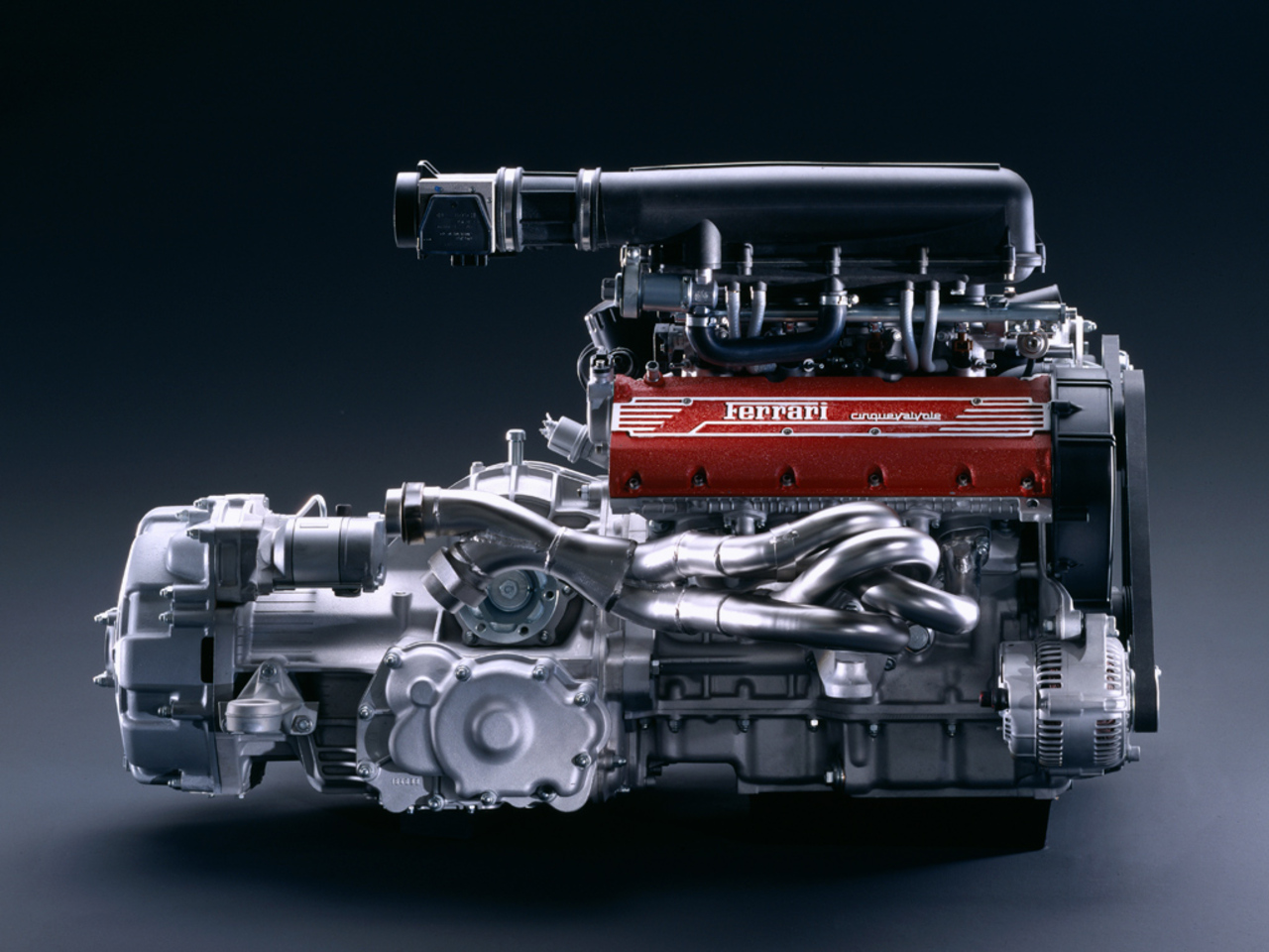 F355 Berlinetta: motore