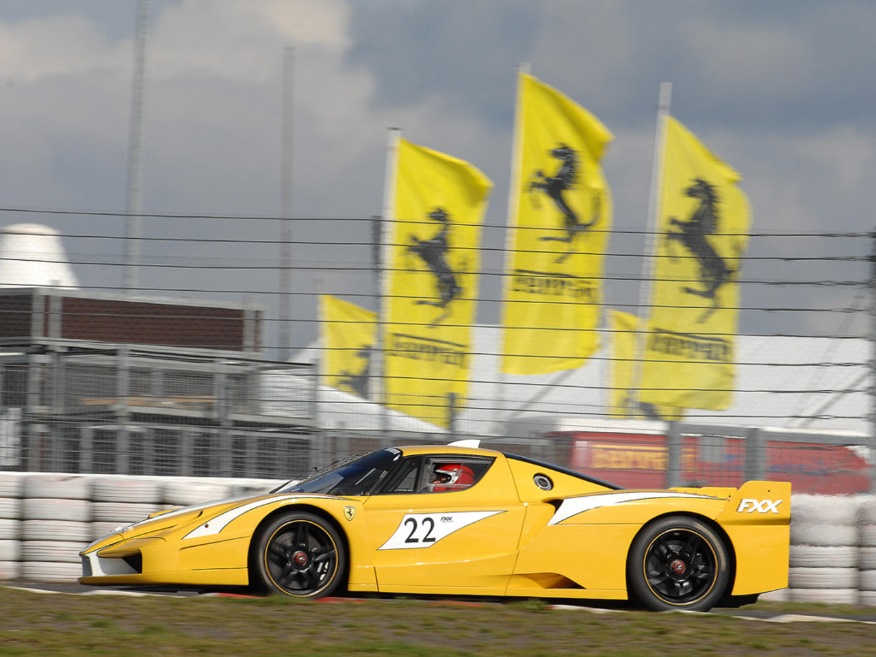 FXX Prototype at Nuerburgring circuit
