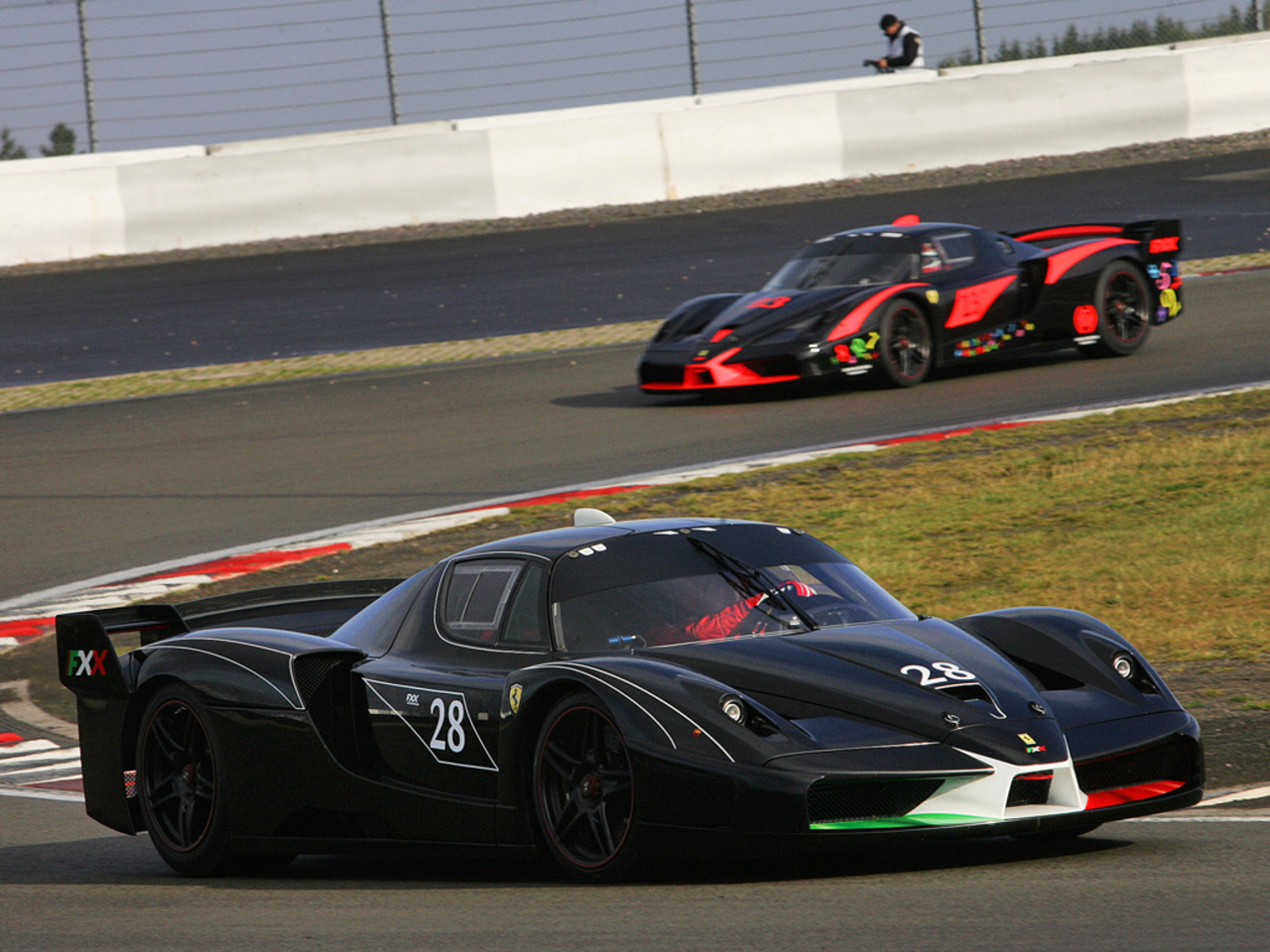 FXX Prototype at Nuerburgring circuit