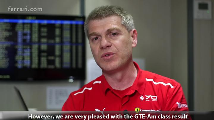 24 Hours of Le Mans 2017 - Antonello Coletta about the race