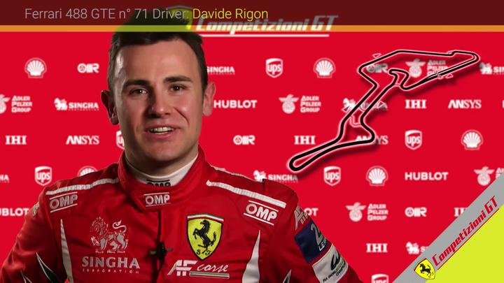 Davide Rigon introduces the Nurburgring