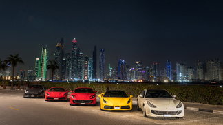 Ferrari Middle East: Driving Excellence with Regional Media Experience in Ras Al Khaimah