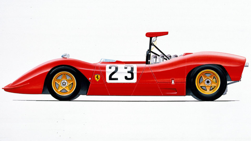 Can Am Parts >> Ferrari 612 Can Am (1968) - Ferrari.com