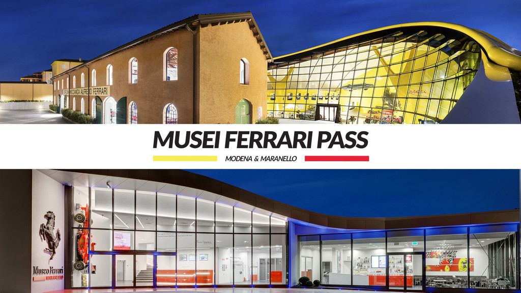 FERRARI MUSEUMS PASS