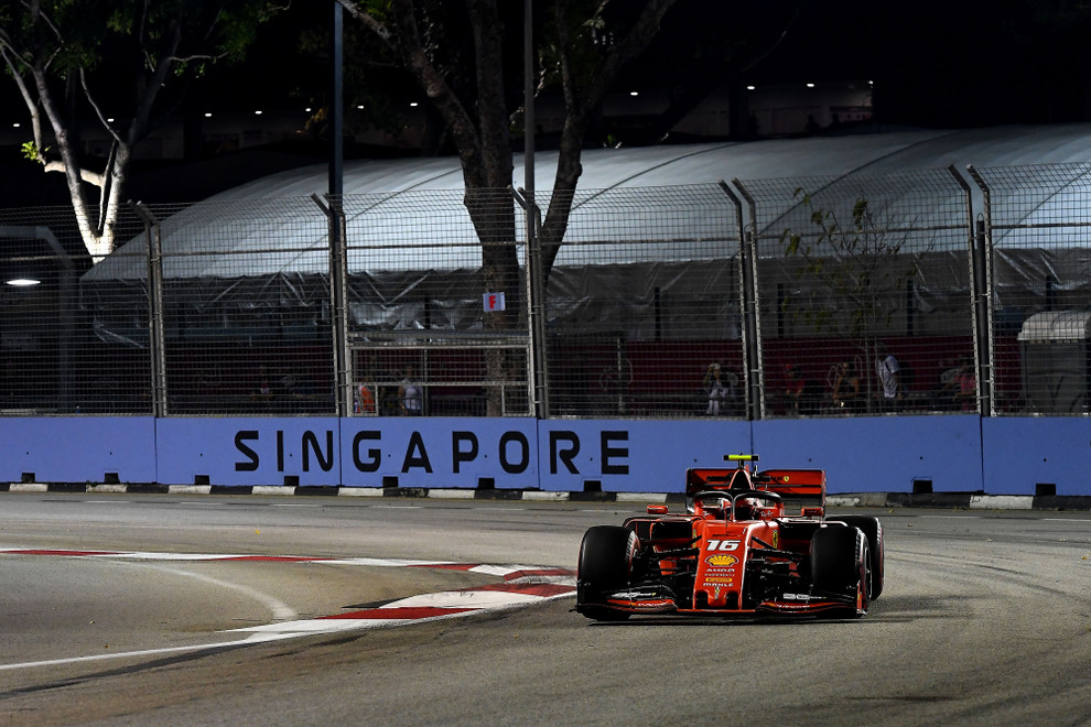 Singapore GP 2019 - Friday - Charles Leclerc - Marina Bay 2019