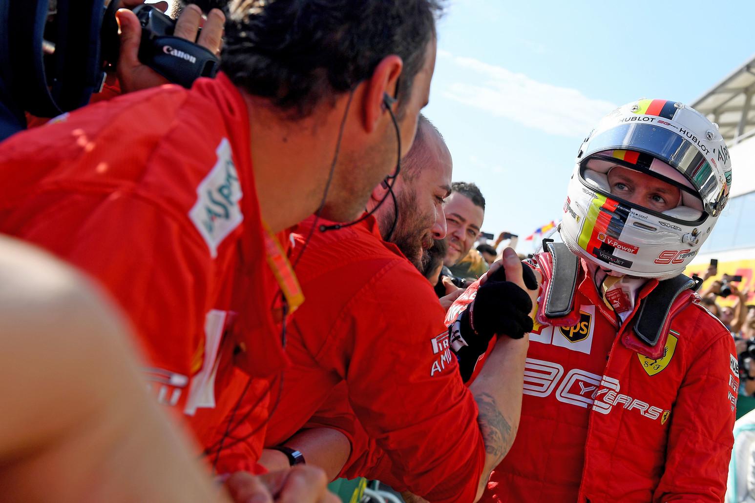 Hungarian GP 2019 - Sunday - Sebastian Vettel - Hungaroring 2019