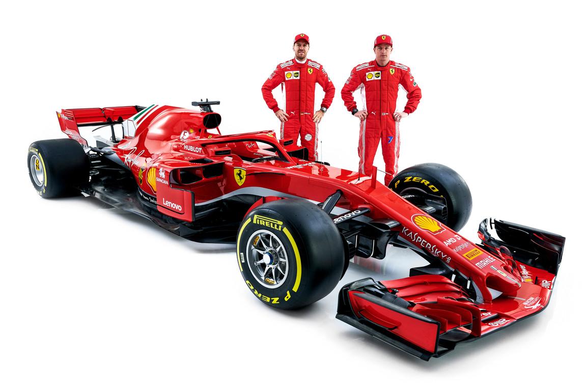Ferrari SF71H Sebastian Vettel Kimi Raikkonen