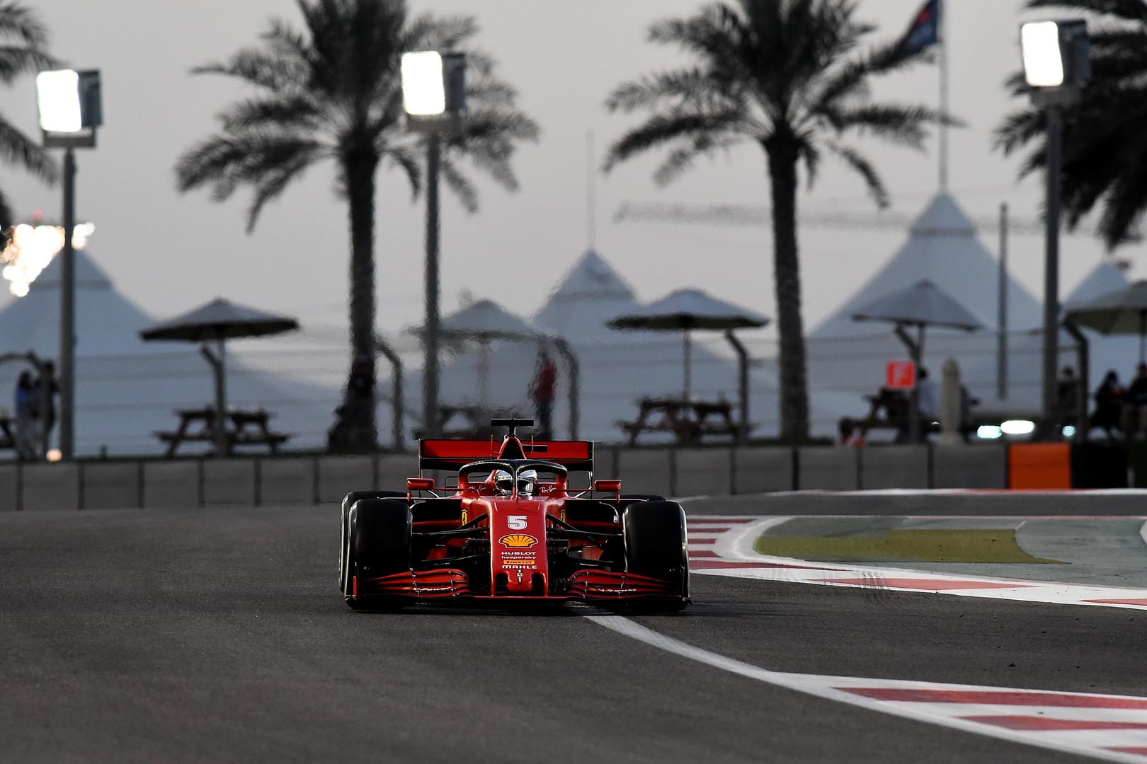 Sebastian Vettel, GP Abu Zabi 2020