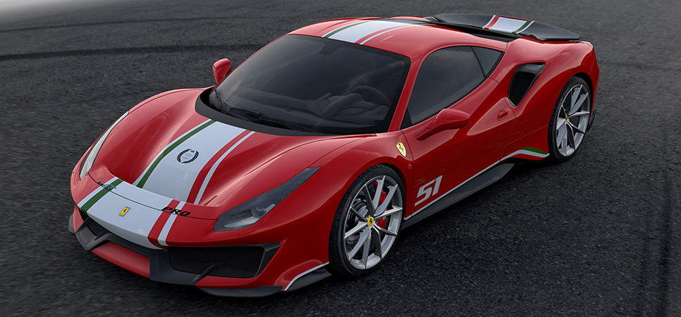 Unique Tailor Made specification for the Ferrari 488 Pista