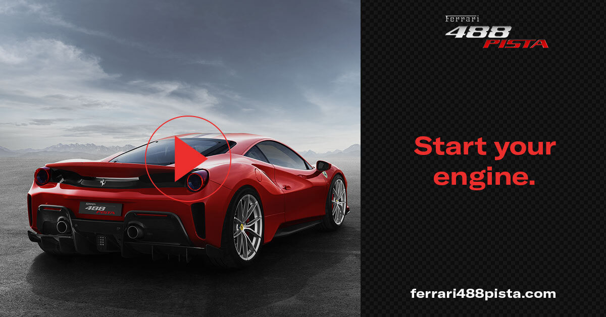 Ferrari 488 pista media gallery for Ufficio design italia srl via emilia est modena mo