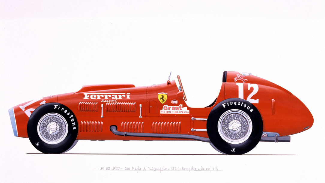 Ferrari 375 Indianapolis Ferrari History