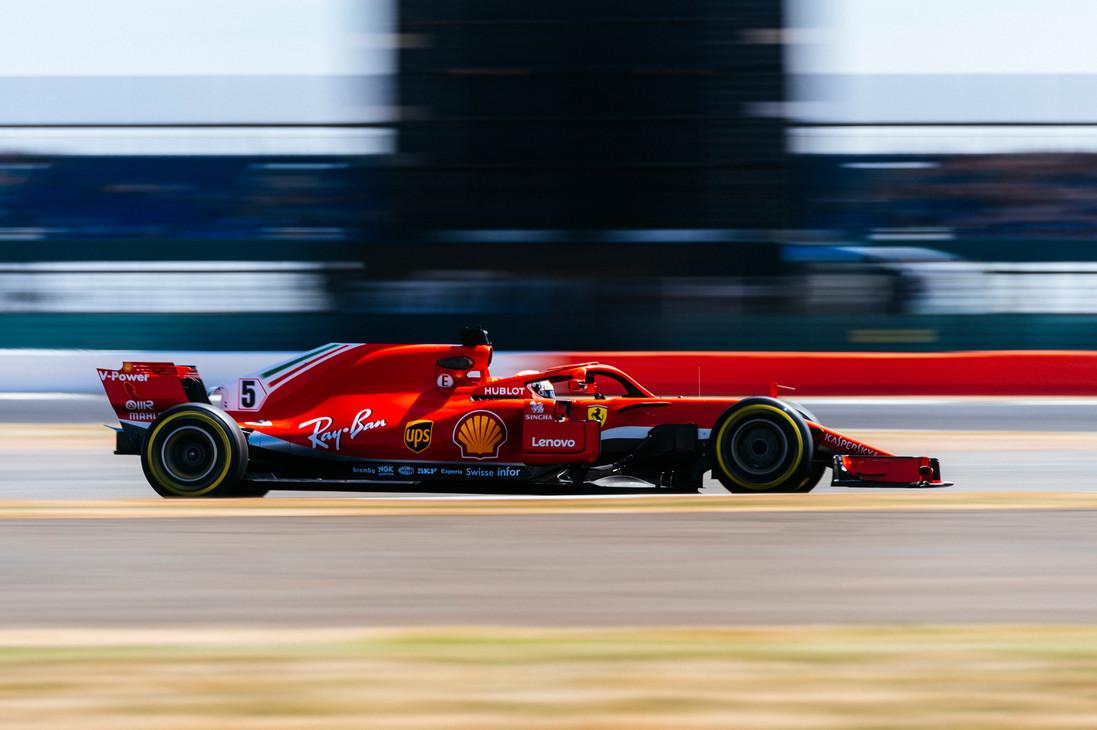GP di Gran Bretagna 2018 - Venerdì - Silverstone 2018 - Sebastian Vettel