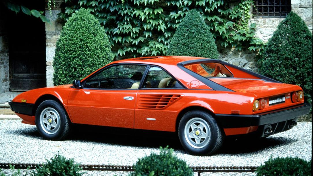 Ferrari Mondial 8 Ferrari History
