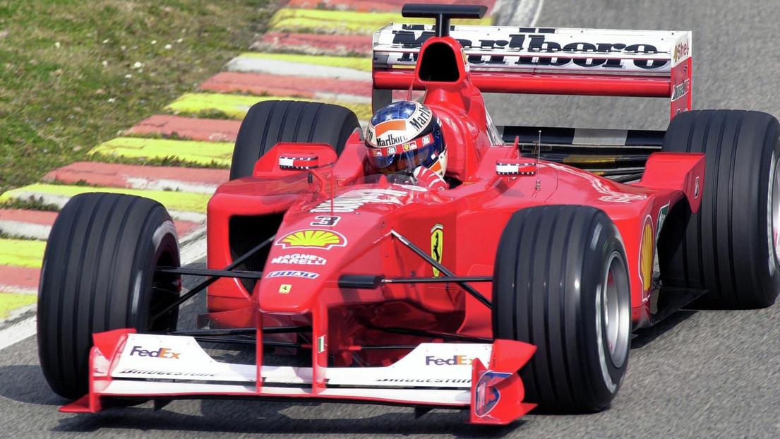 Ferrari F1 2000 Ferrari History