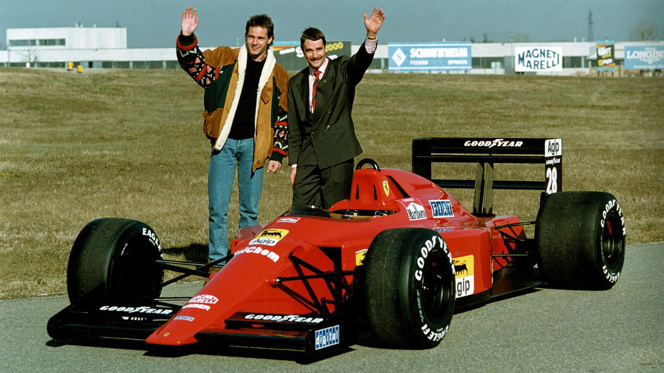 Mansell S Gears Ferrari History