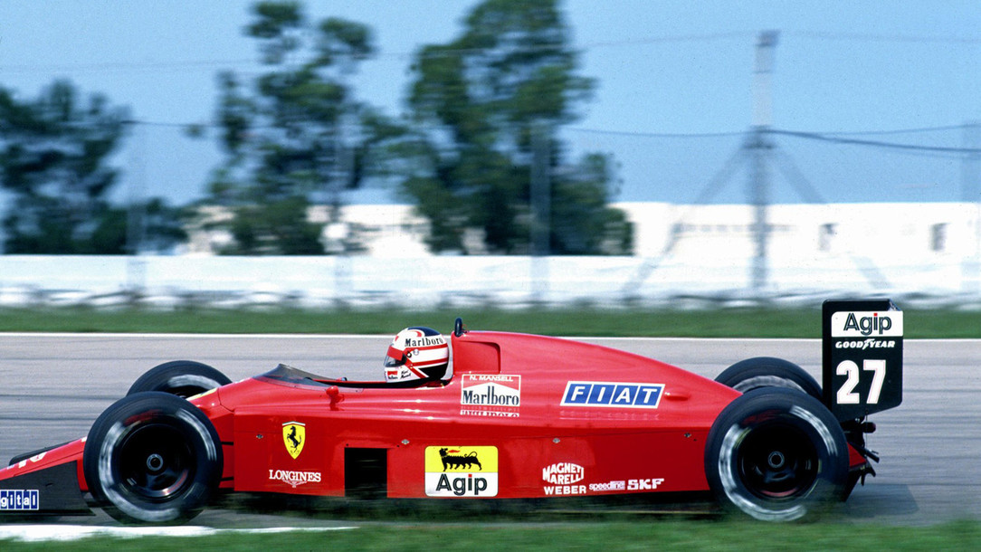 Ferrari F1 89 Ferrari History