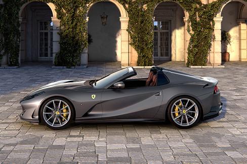 Ferrari 812 Gts The V12 Spider Returns Ferrari Com