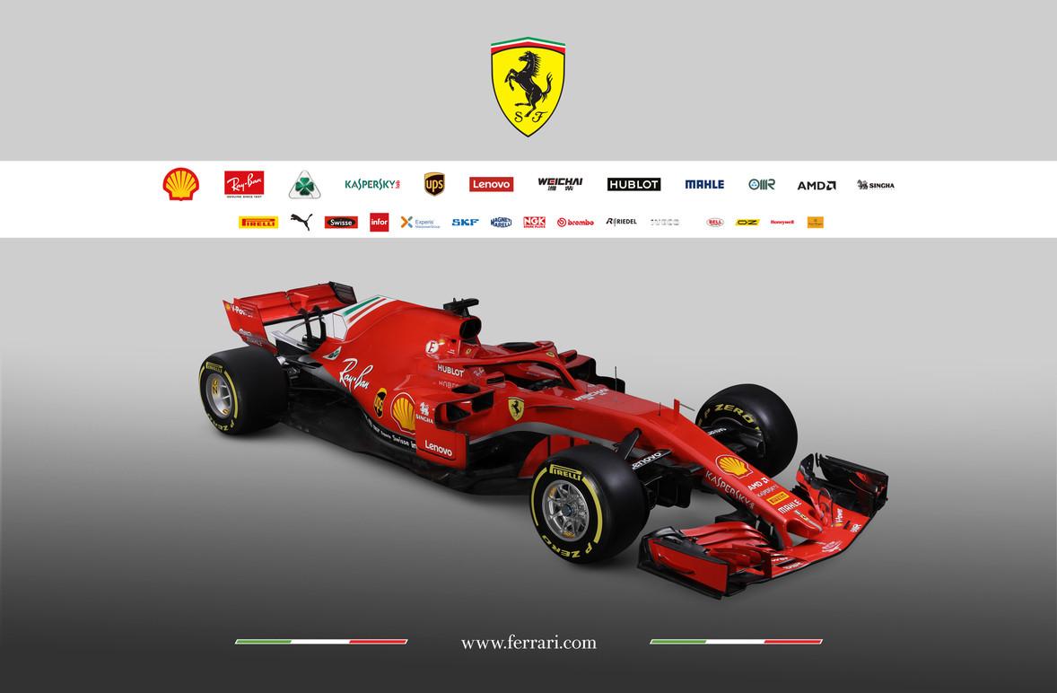 Studio photos of the new Ferrari SF71H