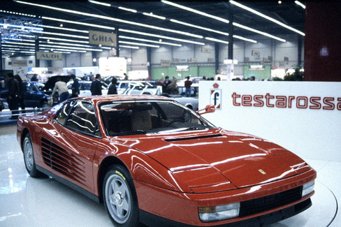Ferrari Testarossa 1984 Ferrari Com