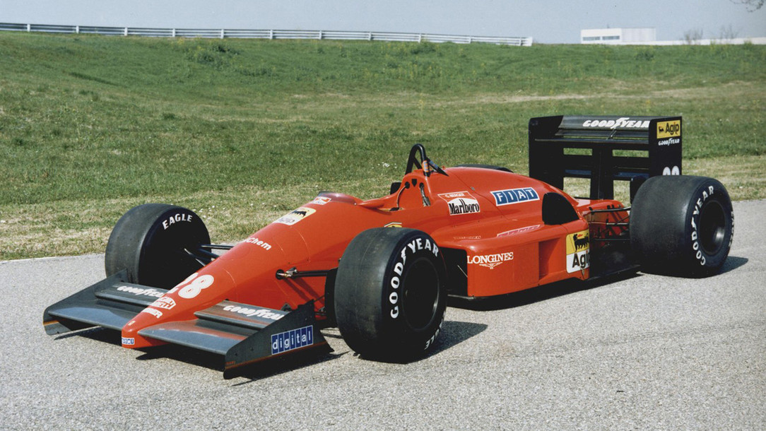 Ferrari F1 87 88c Ferrari History