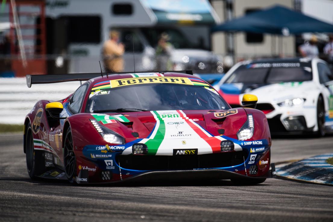 Ferrari Auf Der Edition 2019 Des 24 Stunden Rennens Von Le Mans Tofm