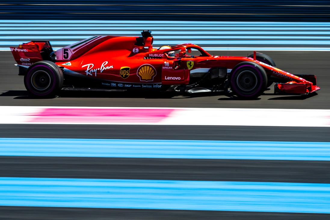 GP di Francia 2018 - Venerdì - Sebastian Vettel, Le Castellet 2018