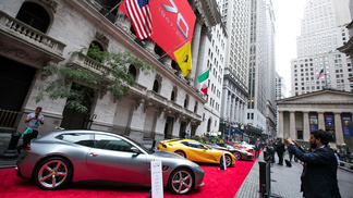 Ferrari RACEs to Wall Street