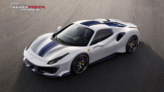 Ferrari 488 Pista Spider - Official gallery
