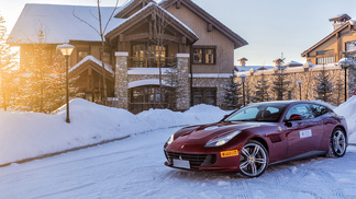 GTC4Lusso and GTC4Lusso T on ice in China