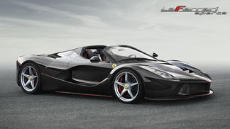 The LaFerrari Aperta  arrives